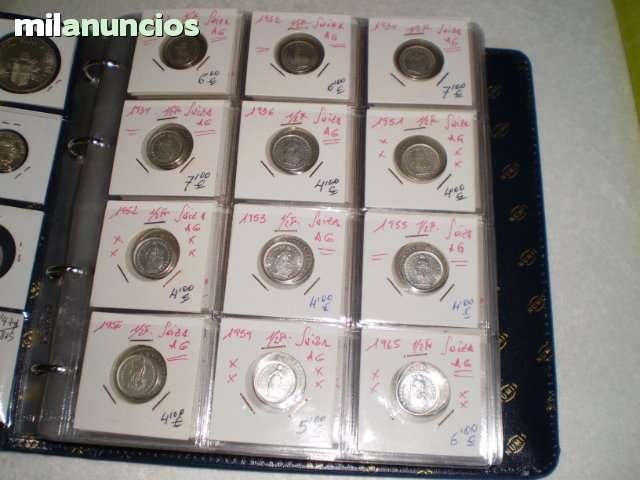 Monedas De Suiza**Plata..