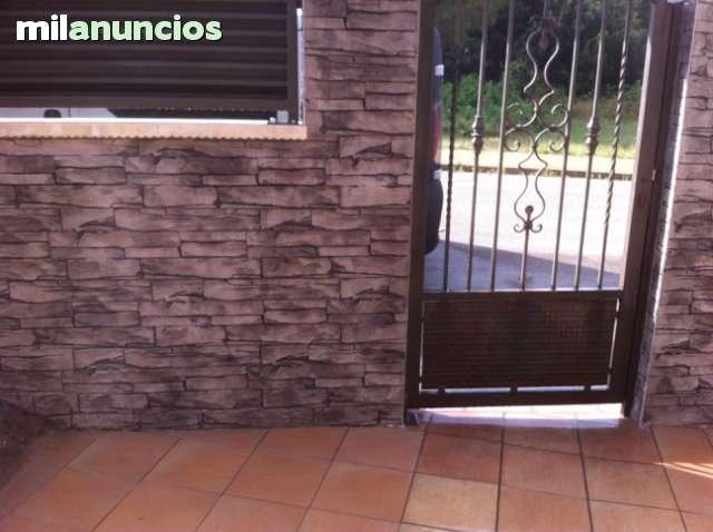 PAVIMENTOS DE HORMIGÓN IMPRESO MUROS