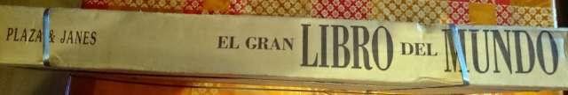 EL GRAN LIBRO DEL MUNDO PLAZA Y JANE