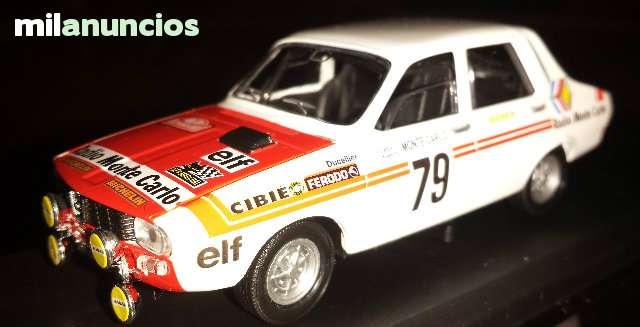 Renault 12 Gordini Rallye De Montecarlo