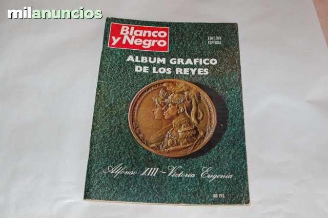Album Grafico De Los Reyes Blanco Y Negr