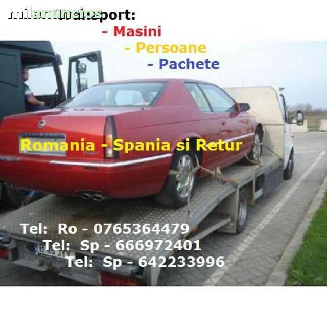 TRANSPORT PACHETE SI AUTOTURISME SPANIA - foto 1