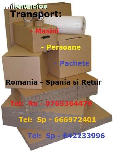 TRANSPORT PACHETE SI AUTOTURISME SPANIA - foto 2