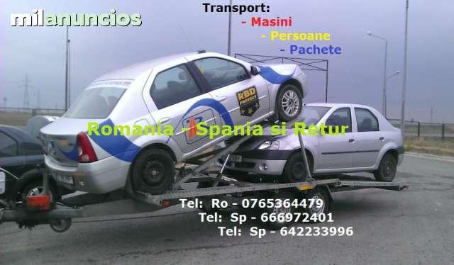 TRANSPORT PACHETE SI AUTO SPANIA-RO - foto 1
