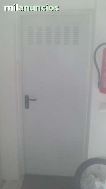 Vendo Puerta Metalica Blanca De Garage