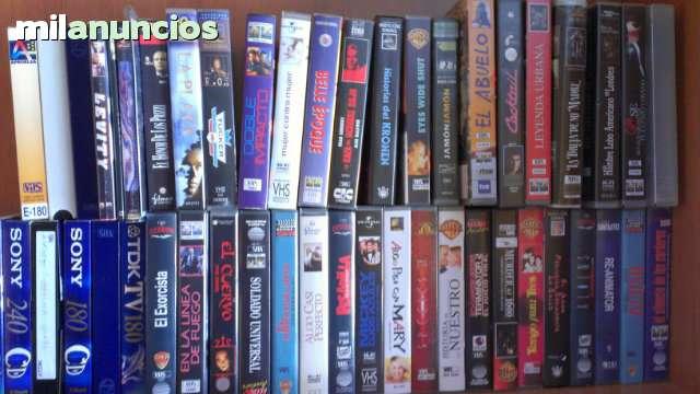 VENDO 35 PELÍCULAS DE VÍDEO VHS, TÍTULOS