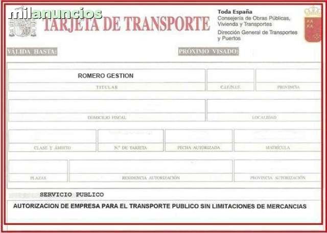 COMPRAMOS TARJETAS DE TRANSPORTES