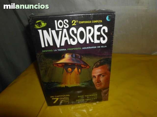 2ª TEMPORADA DE LOS INVASORES EN DVD