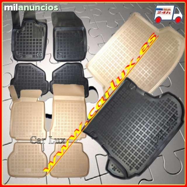 compatibles con el Juego Volvo XC60 II de 2017 Juego de 4 Piezas con Sistema de Montaje Negro Frogum Alfombrillas de Goma 3D Alfombrillas de Coche TPE Borde Muy Alto