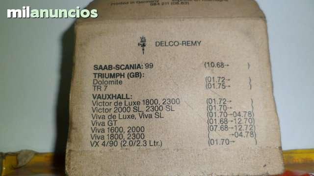 PLATINOS PARA  DELCO -REMY - foto 2