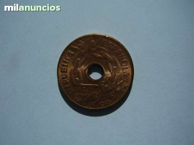 25 Céntimos 1938 Ii República
