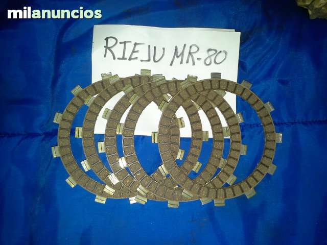 DISCOS DE EMBRAGUE RIEJU MR 80