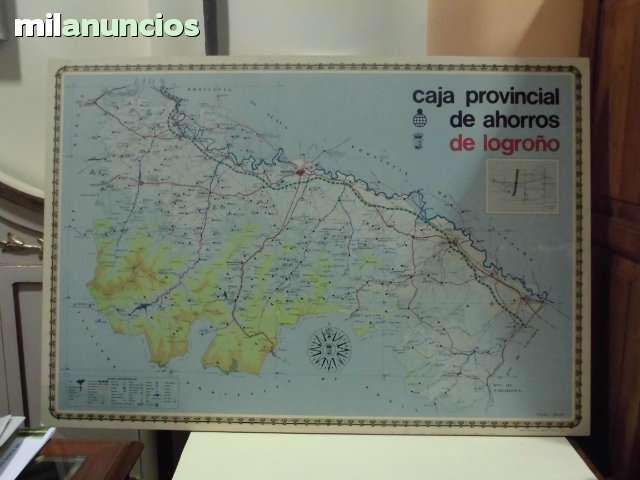 ANTIGÜO MAPA DE LA RIOJA