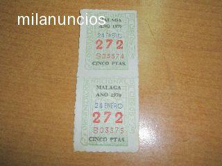 CUPONES DE LA ONCE 1970 - foto 1