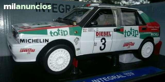 Lancia Delta Integrale Escala 1:18 De Mo