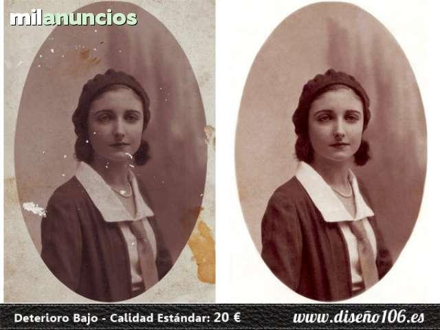 RESTAURACIÓN DIGITAL DE FOTOS - foto 2