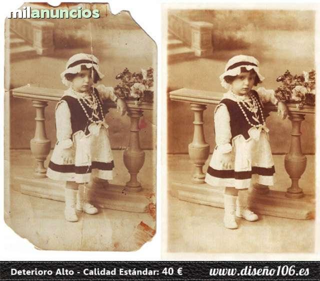 RESTAURACIÓN DIGITAL DE FOTOS - foto 3