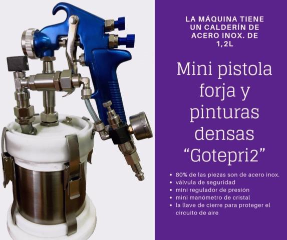 Pistola Repaso Gotele Con Embudo.