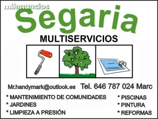 SEGARIA MULTISERVICIOS MARINA ALTA