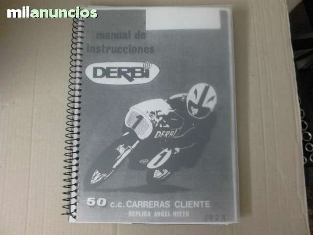 MANUAL DERBI RAN 50 CC