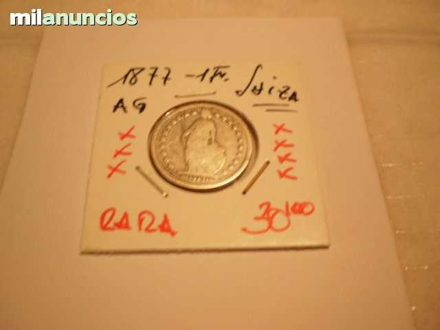Monedas De Suiza**1  Fr.