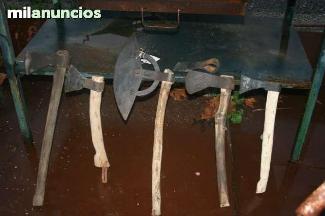 HACHAS DE DIFERENTES TAMAÑOS