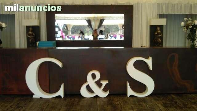 CORCHO BLANCO LETRAS 3D - foto 7