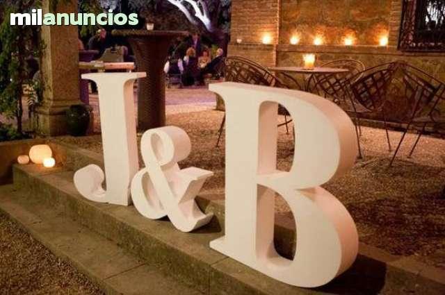CORCHO BLANCO LETRAS 3D - foto 8