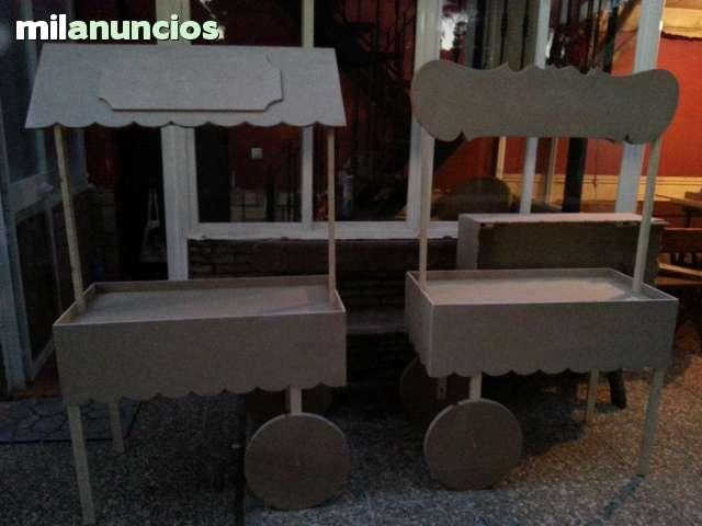 CARRITOS PARA CHUCHES