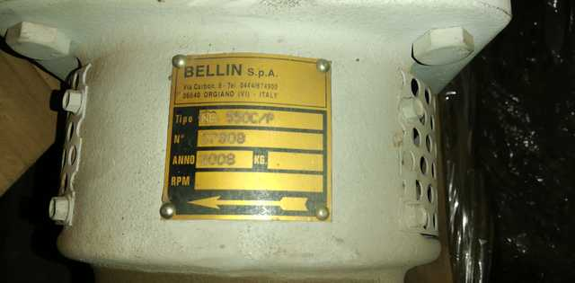 BOMBA HELICOIDAL BELLIN MG550 - foto 1