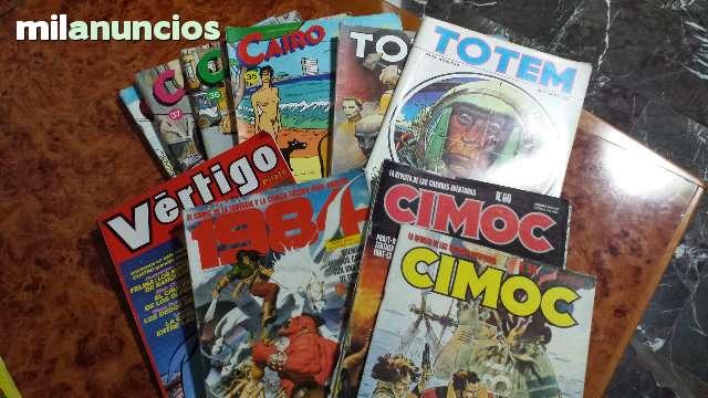 LOTE 10 REVISTAS COMIC ADULTOS, AÑOS 80 - foto 1