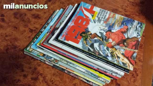 LOTE 10 REVISTAS COMIC ADULTOS, AÑOS 80 - foto 6