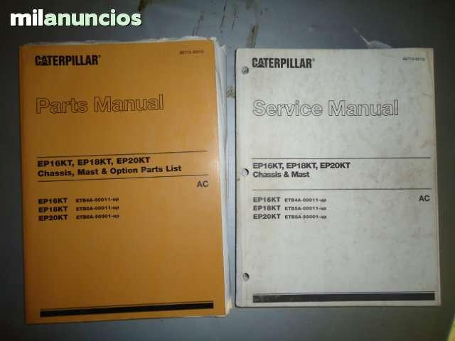 MANUALES REPAR. CARRETILLAS CATERPILLAR