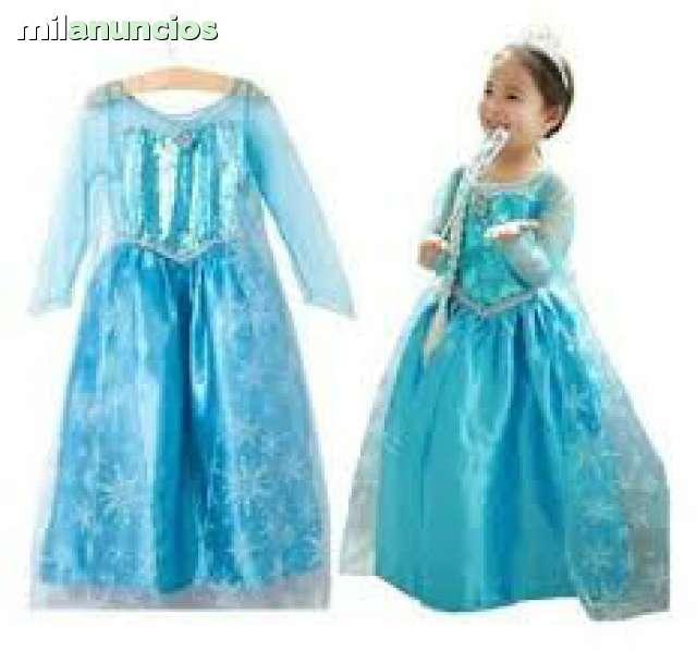 Vestido Disfraz Elsa O Anna Frozen