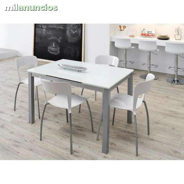 Mesas De Cocina Milanuncios.Mesa De Cocina Karina Blanco Optico