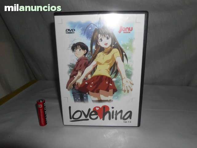 DVD LOVE HINA CAP 1 AL 5 ANIME