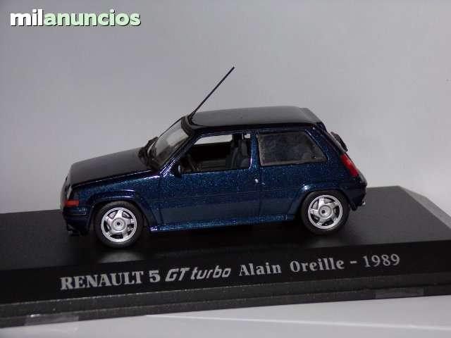 1:18 norev renault 5 GT Turbo supercinq 1989 alain Oreille azul nuevo New