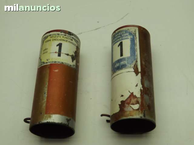 DUCATI 175 TS - FUNDAS METÁLICAS