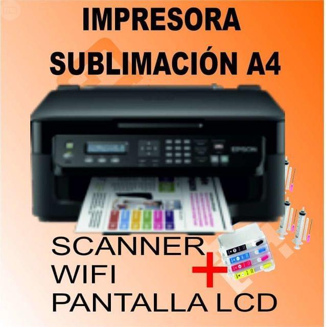 IMPRESARA A4 SUBLIMACIÓN CAMISETAS - foto 1