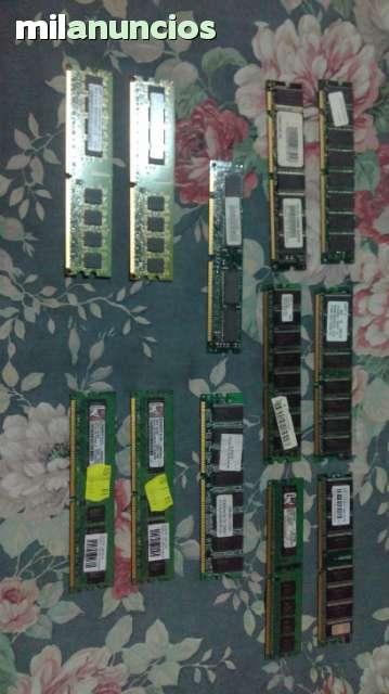 MEMORIA RAM DDR Y DDR2