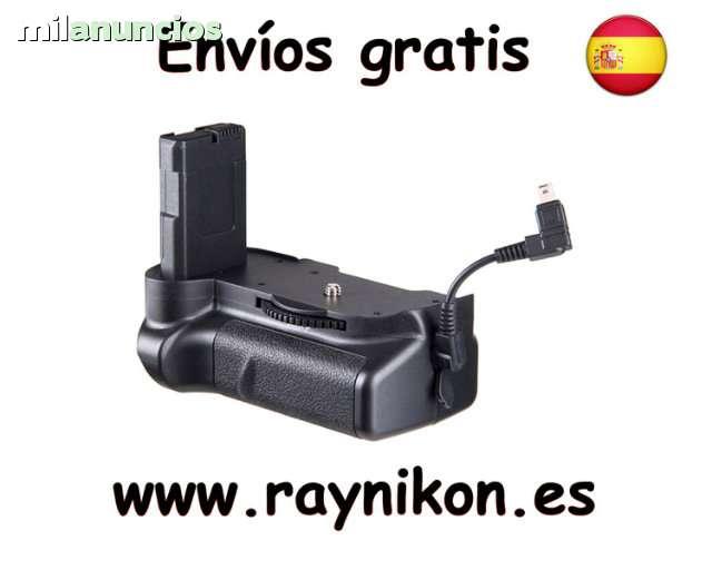 GRIP PARA NIKON D5100 200 300. ENVÍO GRA