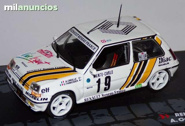 Renault 5 Gt Turbo Rallye De Montecarlo