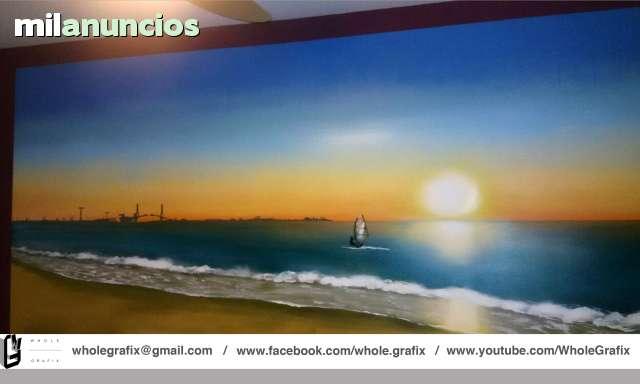 DECORE SU NEGOCIO ,  GRAFFITI, ARTE - foto 1
