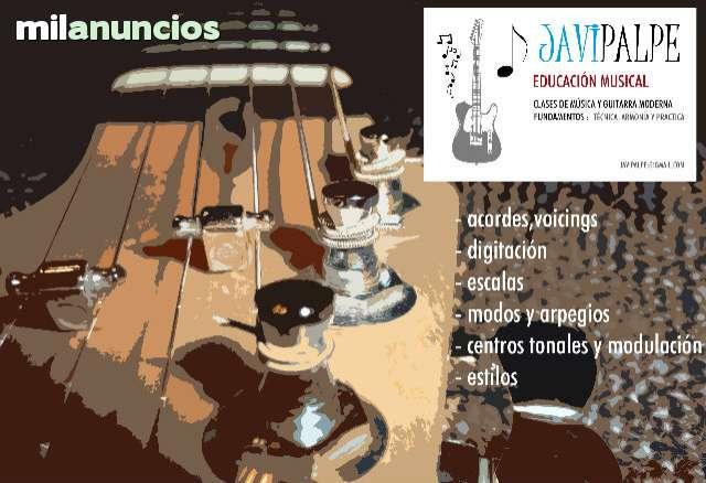 CURSOS CLASES DE GUITARRA ONLINE SKYPE
