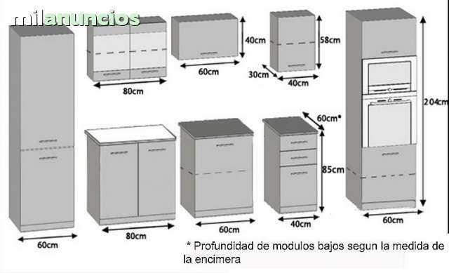 MIL ANUNCIOS.COM - Muebles de cocina Paola Excelence vengue
