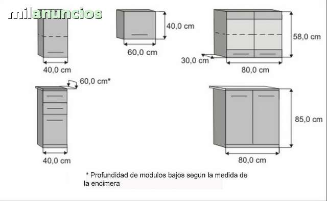 Muebles De Cocina Paola Basica