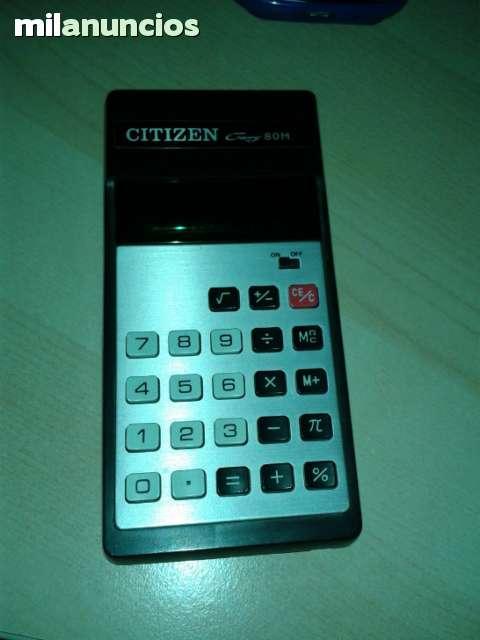 Calculadora Citizen Antigua Años 80