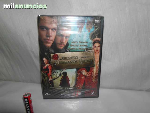 DVD EL SECRETO DE LOS HERMANOS GRIMM