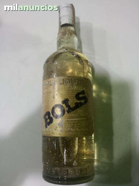 Licor Con Laminas De Oro Bols