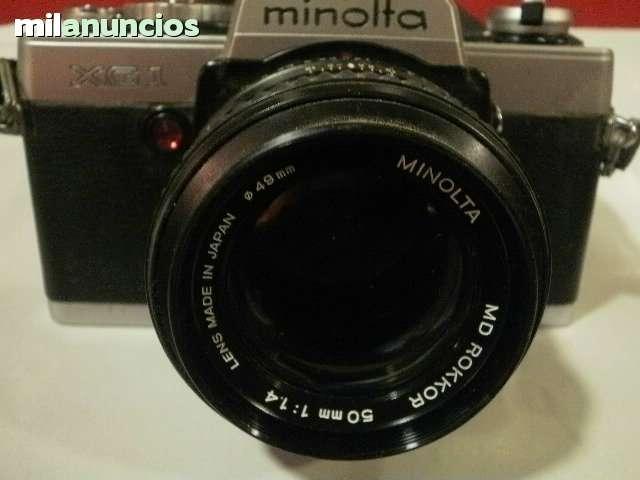 MINOLTA REFLEX - XG 1